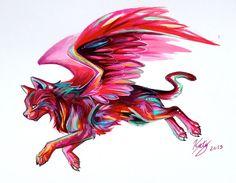 Parrot+Cat+Design+by+Lucky978.deviantart.com+on+@deviantART