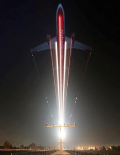 Airbus aircraft - Air Berlin Photo by Timo Breidenstein Airplane Photography, Exposure Photography, Night Photography, Creative Photography, Amazing Photography, Slow Shutter Speed Photography, Panning Photography, Light Painting Photography, Motion Photography