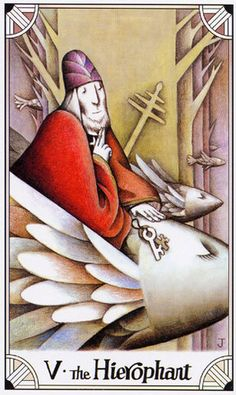 Free Daily Tarotscope — Nov 26, 2014 — The Hierophant -- Today — with Mercury conjuncting Saturn — you could be taking a more serious look at what you believe in and how you communicate those beliefs to others. The Hierophant card speaks of pursuing knowledge, studying tradition, gaining a greater understanding of Universal laws principles and deciding where we stand.(more)...