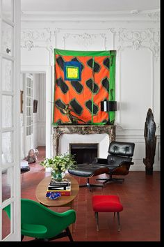 Living Room Art, Living Spaces, Feng Shui, Projects For Kids, Art Projects, Mesa Tulip, Bertoia, Deco Paris, Mid-century Modern