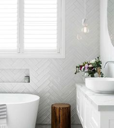 Small grey & white bathroom 2019 Home Design Trends by Rachel Bernhardt, Portland Realtor 2019 Home Design Trends by Rachel Bernhardt, Portland Realtor Small grey & white bathroom White Bathroom Tiles, Bathroom Renos, Laundry In Bathroom, Bathroom Flooring, Bathroom Renovations, Small Bathroom, Master Bathroom, Bathroom Ideas, Metro Tiles Bathroom