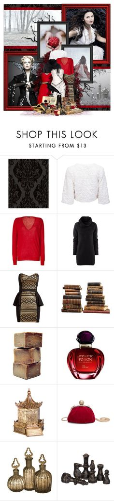 """Who is the fairest of them all..."" by blue-herring ❤ liked on Polyvore featuring Laurence Llewelyn-Bowen, Once Upon a Time, Joseph, H&M, Jason Wu, Te Amo, Sarreid, LIST, Olive and Christian Dior"