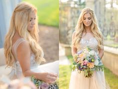 Brides are loving the feminine, vintage Bohemian style for their big day.
