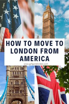For anyone wondering how to move from America to London or how to move from America to England to follow your dreams, here are some things you really need to know. Best Countries In Europe, Visit England, London With Kids, Moving To The Uk, London Night, London Attractions, Things To Do In London, Beautiful Places To Visit, London Travel