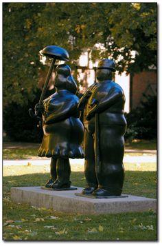 Botero, 1977.  Wichita State University, Wichita, Kansas.
