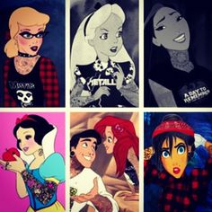 punk disney - Google Search glad they threw Jane in there