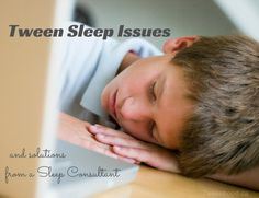 Once your kids are no longer babies you may think your sleepless nights are over... and then they become tweens and teens!