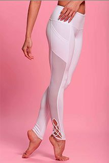 You can never go wrong with mesh, especially on these Pointe Leggings from PopFlex Active. Shop now at www.evolvefitwear.com.