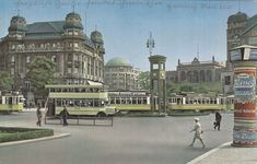 Berlin Tiergarten, Potsdamer Platz, 1924 - 2019 DIY And Craft Berlin Photos, Potsdamer Platz, Vintage Architecture, Old City, Berlin Germany, Old Photos, Taj Mahal, Past, Historia