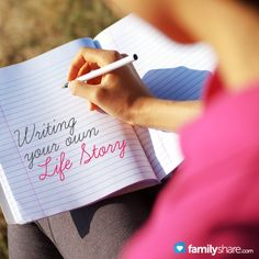 Writing your own life story: Getting started #journal #diary #history
