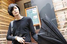 Won Jong Jin, Leather Jacket, Jackets, Fashion, Studded Leather Jacket, Down Jackets, Moda, Leather Jackets, Fashion Styles