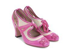 Fluevog Shoes   Shop   Revelation (Pink & Beige)