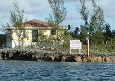 "Entrance to the harbour on Elbow Cay in Hope Town, Abaco, The Bahamas. ""Slow down, you're in Hope Town"""