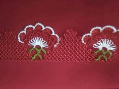 This Pin was discovered by Bir Needle Lace, Knit Crochet, Diy And Crafts, Knitting, Sewing, Jewelry, Istanbul, Herbs, Crochet Stitches