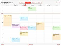 How To Use Calendars App - iPad Air