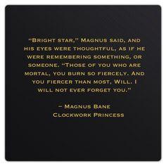 Magnus Bane (Clockwork Princess by Cassandra Clare)