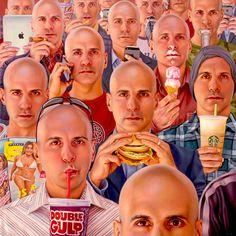 El arte surreal de Alex Gross
