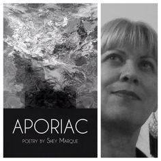 FINISHING LINE PRESS BOOK OF THE DAY: APORIAC by Shey Marque   $13.99, paper  RESERVE YOUR COPY TODAY   https://finishinglinepress.com/product_info.php?products_id=2670&osCsid=iq7q4u80110vcr4j0ajk6dve80 #poetry