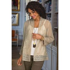 Suraj Cardi from Soft Surroundings on Catalog Spree