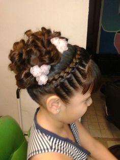 Communion Hairstyles, Dance Hairstyles, Flower Girl Hairstyles, Little Girl Hairstyles, Cute Hairstyles, Braided Hairstyles, Toddler Hairstyles, Flower Girl Updo, Girls Updo