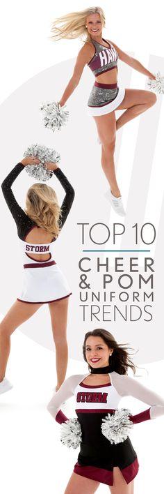 Top 10 Cheer & Pom Uniform Trends for 2017-2018!