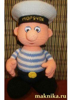Un  petit marin très mignon avec explications et photos en russe