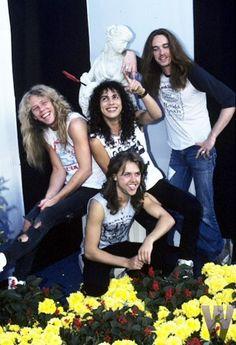 James Hetfield, Kirk Hammett, Cliff Burton & Lars Ulrich                                                                                                                                                      More