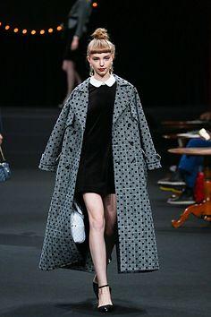dazzlinのレトロで上品な秋冬服から学ぶアメリカン・フレンチスタイル|MERY[メリー] Dazzlin, Clothes, Kawaii, Dresses, Nice, Twitter, Style, Outfits, Vestidos