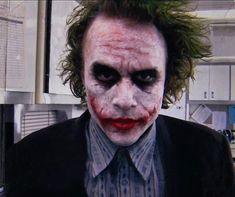 Different heath ledger Joker Dark Knight, The Dark Knight Trilogy, Joaquin Phoenix, Batgirl, Nightwing, Harley Quinn, Joker And Harley, Poison Ivy Batman, Jason Todd Batman