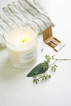 If you can't find just the right holiday candle scent, make your own. Use essential oils like pine needles, orange and sage.