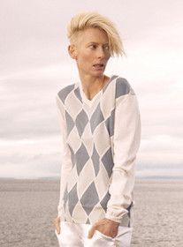 Hair Wars: Did Tilda Swinton Swipe Kate Lanphear's Platinum Swoop? +#refinery29