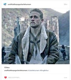 King Arthur / Legend of the Sword / Knights of the Round Table / KORT. Charlie Hunnam. SDCC 2016. 07/23/2016