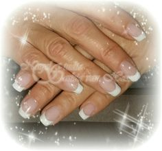 French manicure Quida gelpolish