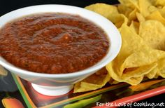 Smoky Tomato-Chipotle Salsa, try draining tomatoes,  add more oregano & cumin & lemon juice or vinegar