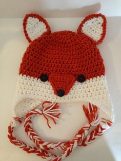crochet fox hat - Google Search