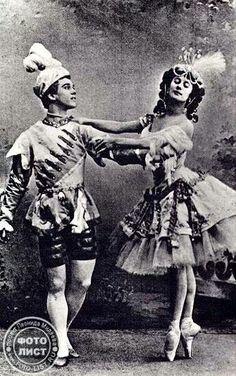 Anna Pavlova and Vaslav Nijinsky /Archive photo