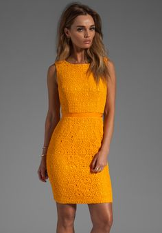 Trina Turk B-Line Dress in Sun Kissed