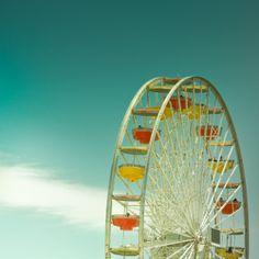 beautiful, colors, ferris wheel, paris wheel, photography - inspiring picture on Favim.com