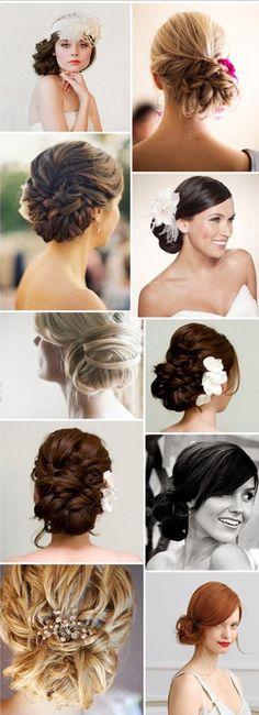medium hair styles for women braided bun