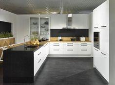 Wellmann L Küche 536 VILAS magnolie / anthrazit | Kitchen | Pinterest | {Wellmann küchen fronten landhaus 79}