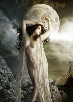 The moon will shine and create a path through the darkness,... I will not get lost again.