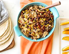 This is our favorite crock pot meals.  High in fiber and makes a ton of food.  Great leftovers for at least 2 days!