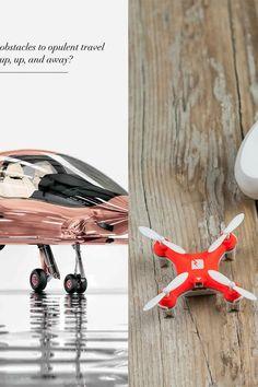 COBALT VALKYRIE-X PRIVATE PLANE IN ROSE GOLD ($1,500,000) VS. TRNDLABS SKEYE MINI DRONE WITH CAMERA ($99)