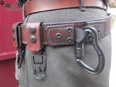 This gear combines traditional leather with modern hardware - the strongest quick release buckles. Wolf Wind Equipment Belts are to be worn outside a jacket or as a second belt and designed to carry equipment close at hand in a readily accessible manner. All the Hardware is MADE IN USA, EUR