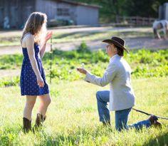 Hannah and Doug // Proposal — ally king photography