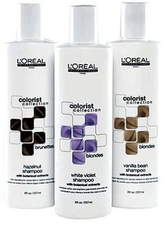 If you must enhance, then this is the best.  These color depositing shampoos and conditioners are pH balanced and are color coded for easy clarification.