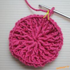 HÁČKOVÁNÍ - Zimní čepice s plastickým vzorem Magic Art, Knitted Hats, Crochet Earrings, Knitting, Crossstitch, Needlepoint, Knit Hats, Tricot, Knit Caps