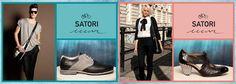 Outfit Hombre: Zapatos combinados en cuero negro, tela gris y suela artesanal con taco rayado en blanco y negro. Pertenece a la Colección Verano 2013 SATORI MAR, su nombre MURAKAMI.         Outfit Mujer: zapatos acordonados realizado en diferentes texturas monocolor negro y su taco está forrado en tela rayada blanca y negra. Pertenece a la Colección Verano 2013 SATORI MAR, su nombre MILAGROS.    Augusto Chamorro.- Men Dress, Dress Shoes, Outfit Mujer, Taco, Cole Haan, Oxford Shoes, Outfits, Fashion, Gray Fabric