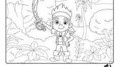 Jake and the Forever Sword | Coloring Pages | Disney Junior