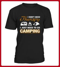 Best Limited  I dont need therapy camping front 2 Shirt - Camping shirts (*Partner-Link)